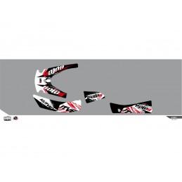 KUTVEK Rotor Graphic Kit Black Kymco MXU300