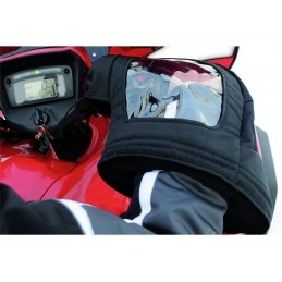Kimpex Handlebar Windowed Muffs ATV Black