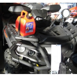 ART Tank and Quick Clips Red 5L Can Am