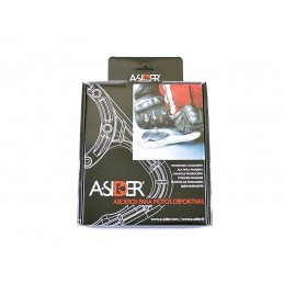 A-SIDER Tank Handle Grip 5 Screws Silver Suzuki