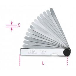BETA Metric Feeler Gauge 0,05 - 1mm 20 Slides