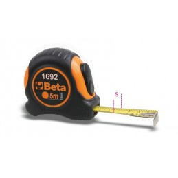 BETA 5m Measuring Tape ABS Casing Steel Tape Precision Class II