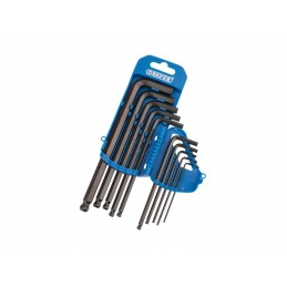 DRAPER Set of 10 long hexagonal spanners