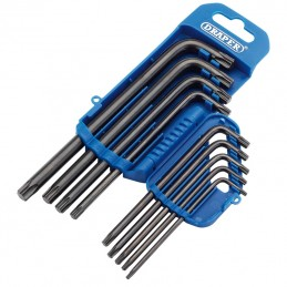 DRAPER Torx® Long Keys Set (9 pieces)