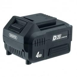 DRAPER D20 20V 4.0Ah Lithium-Ion Battery