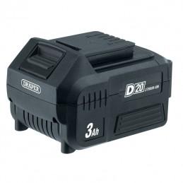 DRAPER D20 20V 3.0Ah Lithium-Ion Battery