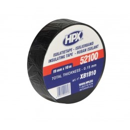 HPX Insulation Duct Tape Black 19mm x 10m