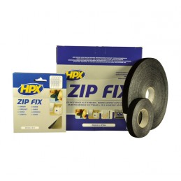 HPX Zip Fix Black 20mm x 5m