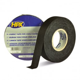 HPX Canvas Duct Tape Black 19mm x 25m