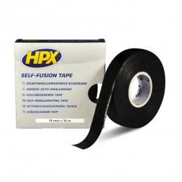 HPX Self Fusion Tape Black 19mm x 10m