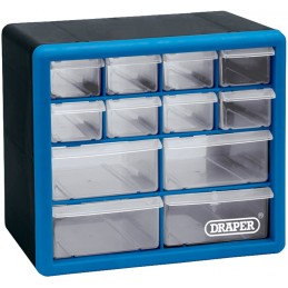 DRAPER Organisers with 12 Drawers