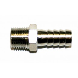 """PTS OUTILLAGE Barbed Fitting 1/4"""" male"""