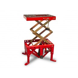 BIHR Hydraulic MX Lift Stand Red (wheels not included)