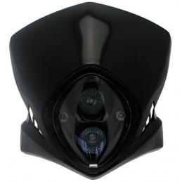 BIHR Viper Headlight Black