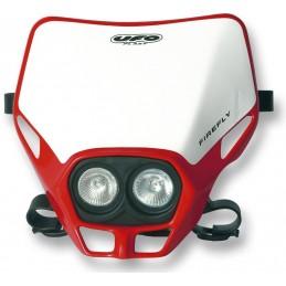 UFO Firefly Twins Headlight Red