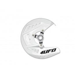 UFO Front Disc Protector White Husqvarna TE/FE 125 & +