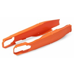 POLISPORT orange swingarm protection KTM