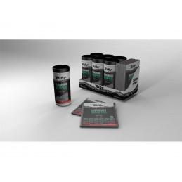 BIHR Multipurpose Cleaning Wipes - 50 pcs Dispenser with Microfiber