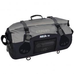 OXFORD Aqua T-50 Roll-bag all-weather black/grey 50 liters