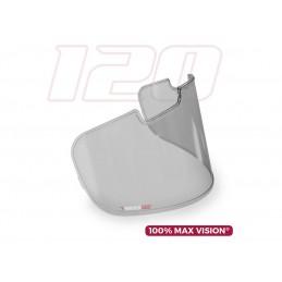 PINLOCK 100% Max Vision Light Smoke Insert for ARAI SAI type screens