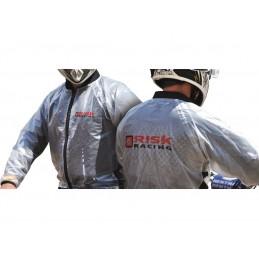 Risk Racing Rain Jacket Translucent size XXL