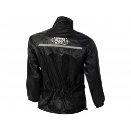 OXCFORD Rainseal Over Jacket Black Size 5XL