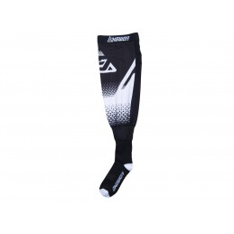 ANSWER Knee Brace Socks White/Black Size S/M