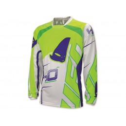 UFO 40th Anniversary Jersey White/Green/Blue Size XL