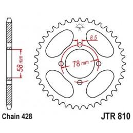 JT SPROCKETS Rear Sprocket 46 Teeth Steel 428 Pitch Type 810