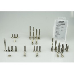 SCAR Engine Screw Kit Titanium 34 Screws KTM SX65