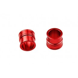 SCAR Front Wheel Spacer Red Suzuki RM-Z250/450