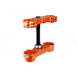 SCAR Triple Clamp OE Offset Orange KTM EXC/EXC-F