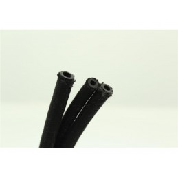 BIHR Braided Fuel Hose 8x13mm Black