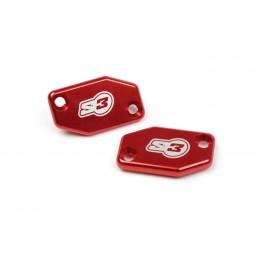 S3 Clutch Master-Cylinder Cover Red Braktec