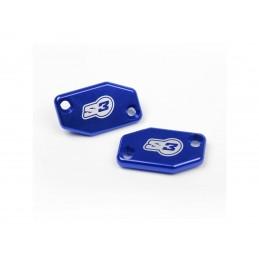 S3 Clutch Master-Cylinder Cover Blue Braktec