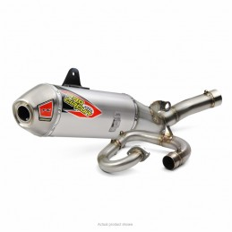 PRO CIRCUIT T-6 Stainless Steel Full Exhaust System Alu Muffler/Stainless Steel End Cap Yamaha YZ450F