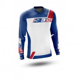 S3 Collection 01 Jersey Patriot Red/Blue Size S