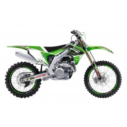 BLACKBIRD Dream Graphic 4 Complete Graphic Kit Kawasaki KX450F