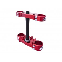 FFS RED SCAR O AND STANDARD TRIPLE CLAMP FOR HONDA