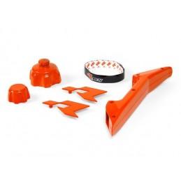 RACETECH Fuel Can Accessory Kit Orange