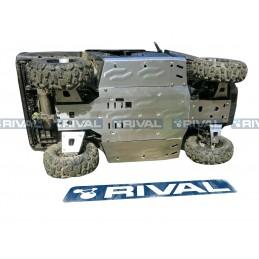 RIVAL Complete Skid Plate Kit Aluminum CF Moto