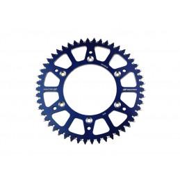 SCAR Rear Sprocket 50 Teeth Alu Ultra-Light Self-Cleaning Pitch 420 Type SRS510 Blue