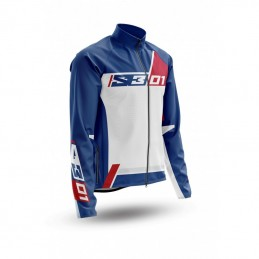 S3 Collection 01 Jacket Patriot Red/Blue Size L