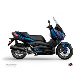 KUTVEK Replica Graphic Kit Blue/Black Yamaha X-Max 125