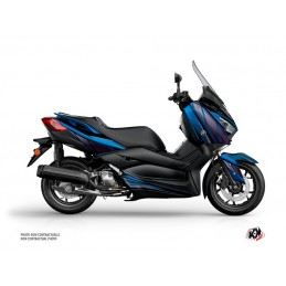 KUTVEK Replica Graphic Kit Blue/Black Yamaha X-Max 400