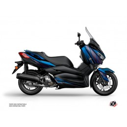 KUTVEK Replica Graphic Kit Blue/Black Yamaha X-Max 300