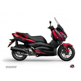 KUTVEK Replica Graphic Kit Red/Black Yamaha X-Max 400