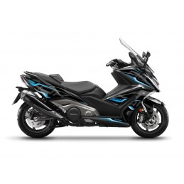KUTVEK Energy Graphic Kit Black/Blue Kymco AK 550