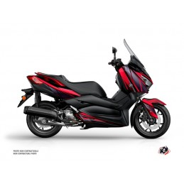 KUTVEK Replica Graphic Kit Red/Black Yamaha X-Max 300