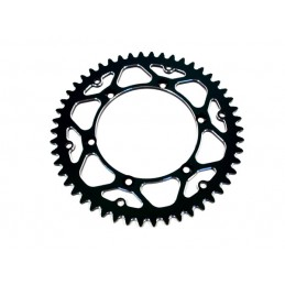 ART Rear Sprocket 52 Teeth Steel Self-Cleaning 520 Pitch Type 210 Black